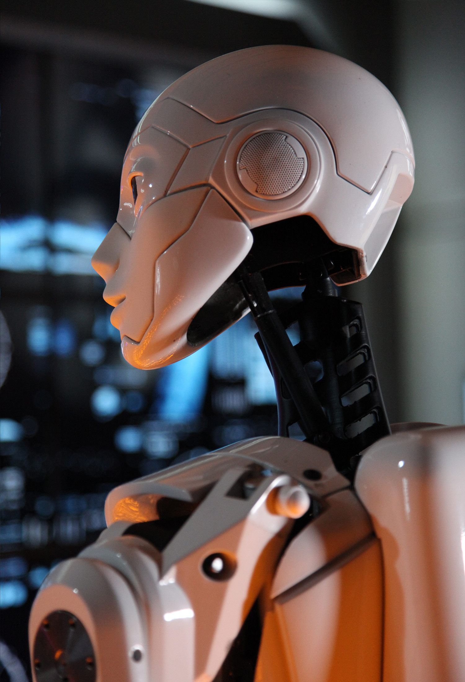 K-na Robot Head